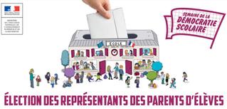 Élection des représentants des parents au conseil d'administration