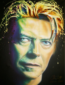 NEON ICON SERIES- BOWIE