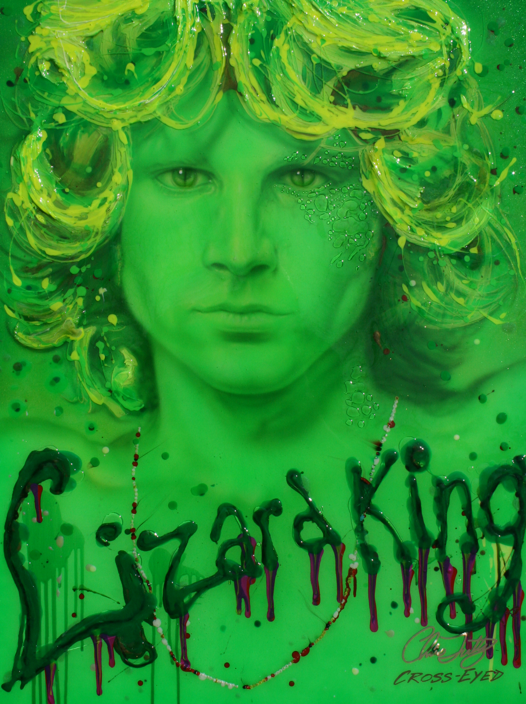 NEON ICON SERIES-LIZARD KING