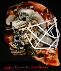Curtis McElhinney Calgary Flames 03