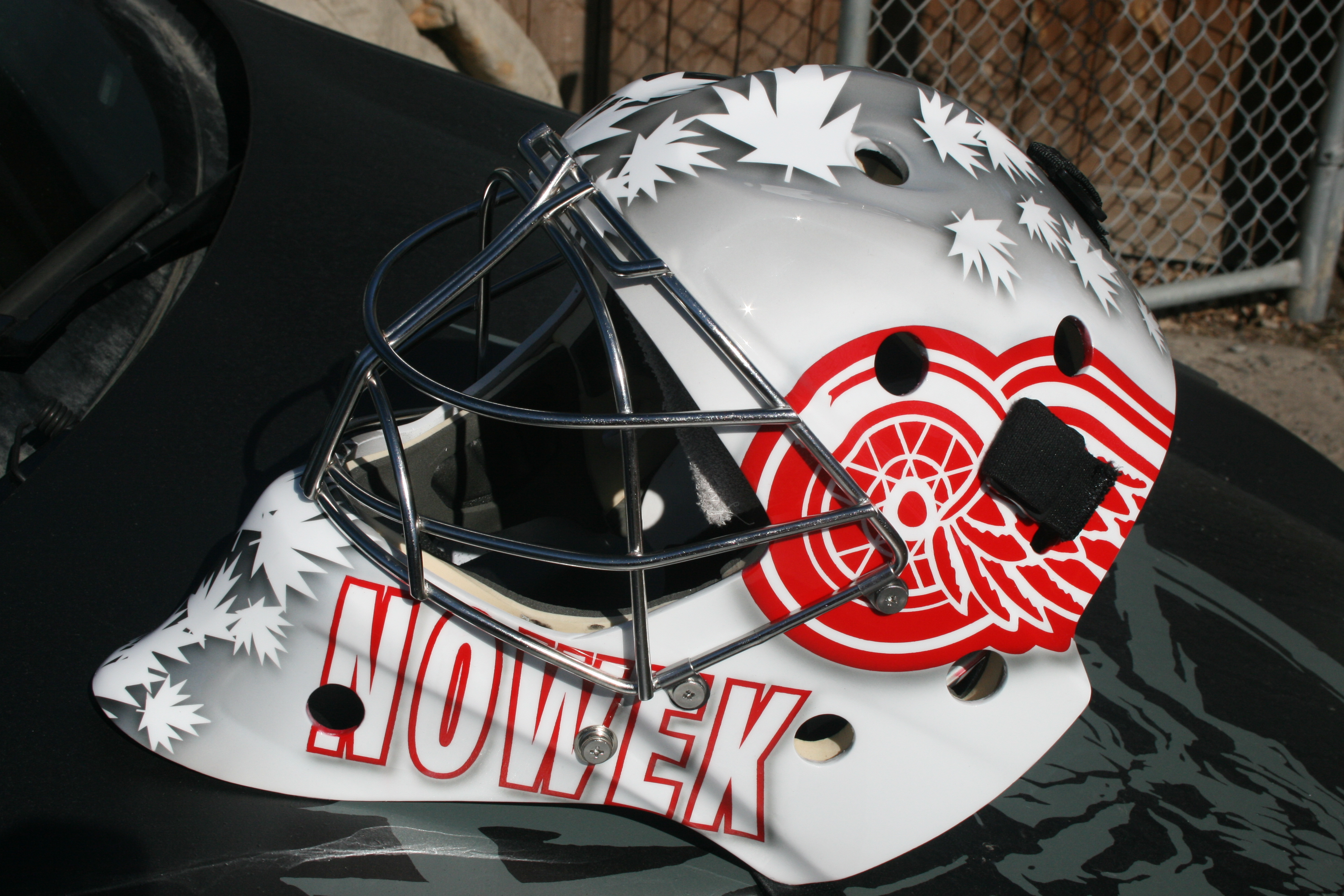 Red Wings Mask 1