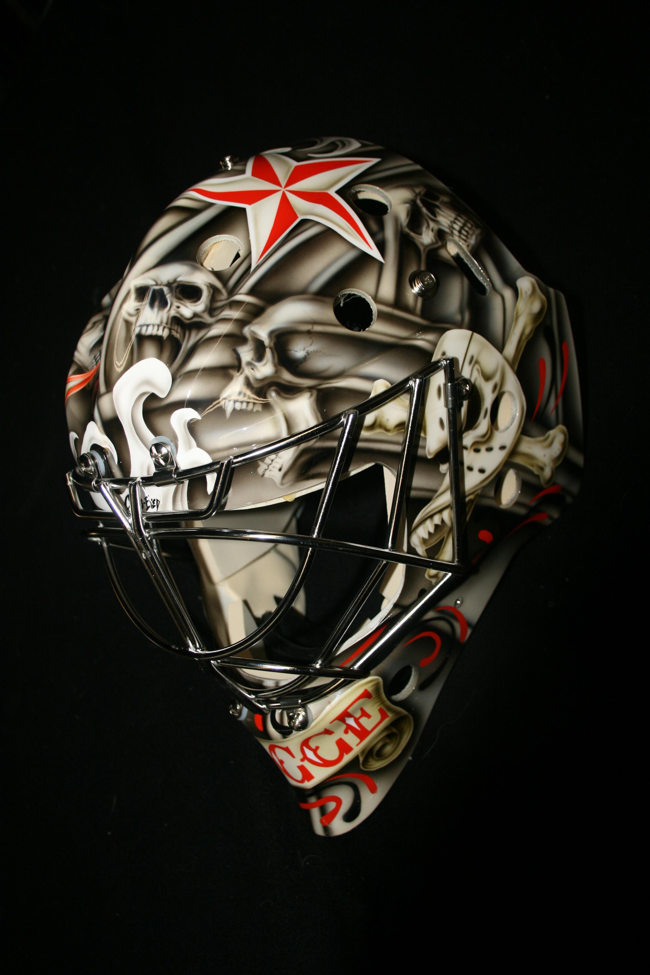 Justin Pogge Anaheim Ducks 1