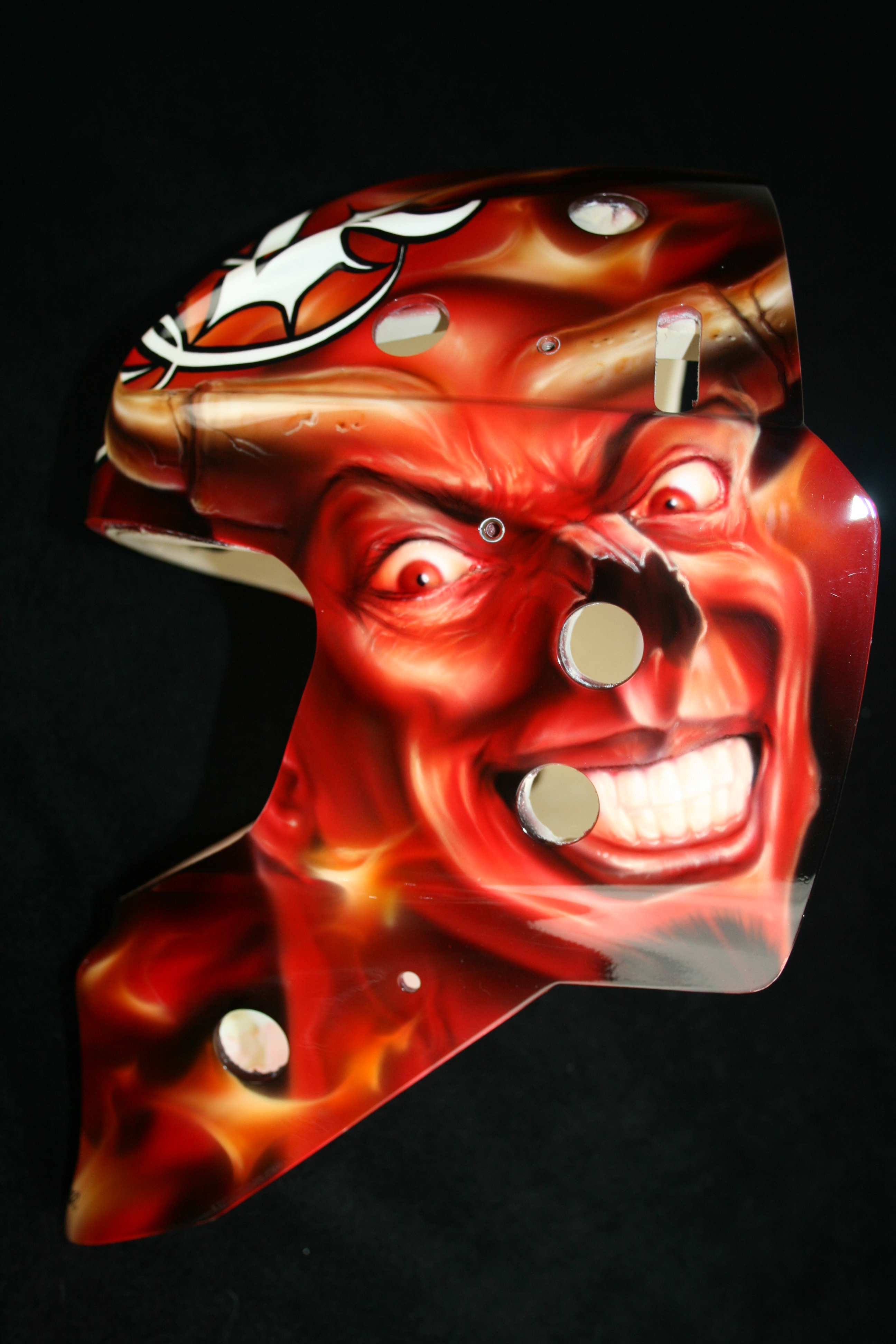 Matt Keetley Calgary Flames Devil 1