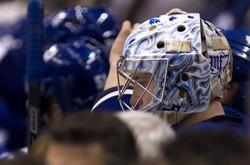 Justin Pogge Toronto Maple Leafs 4