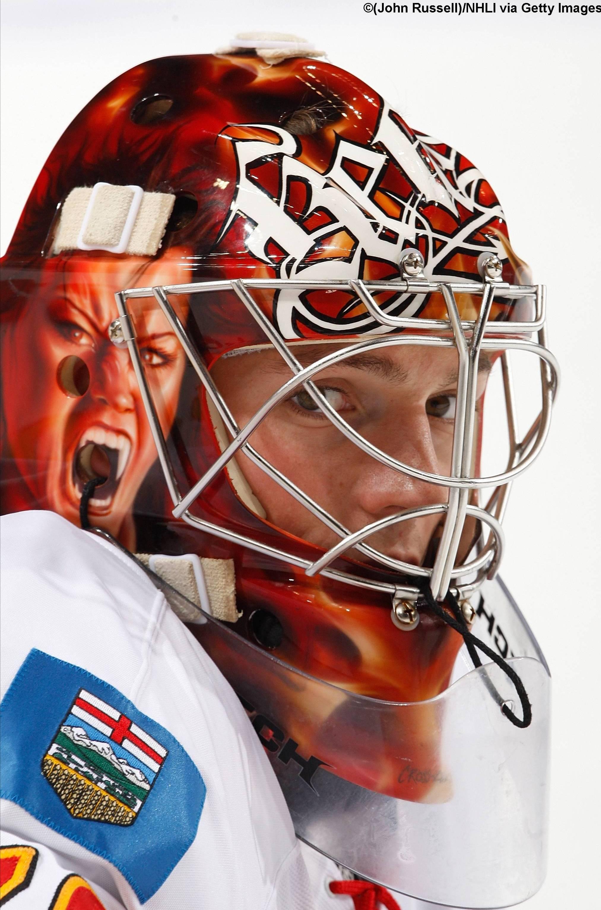 Matt Keetley Calgary Flames Devil 4