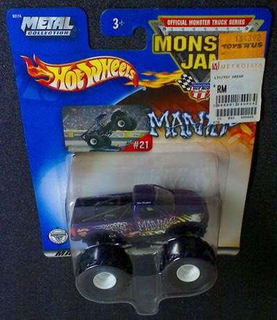 MANIAC HOT WHEELS