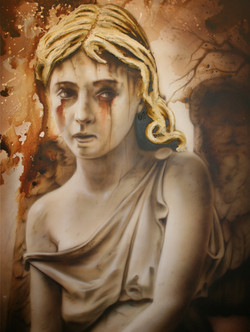 SCULPTURE SERIES-CRYING ANGEL
