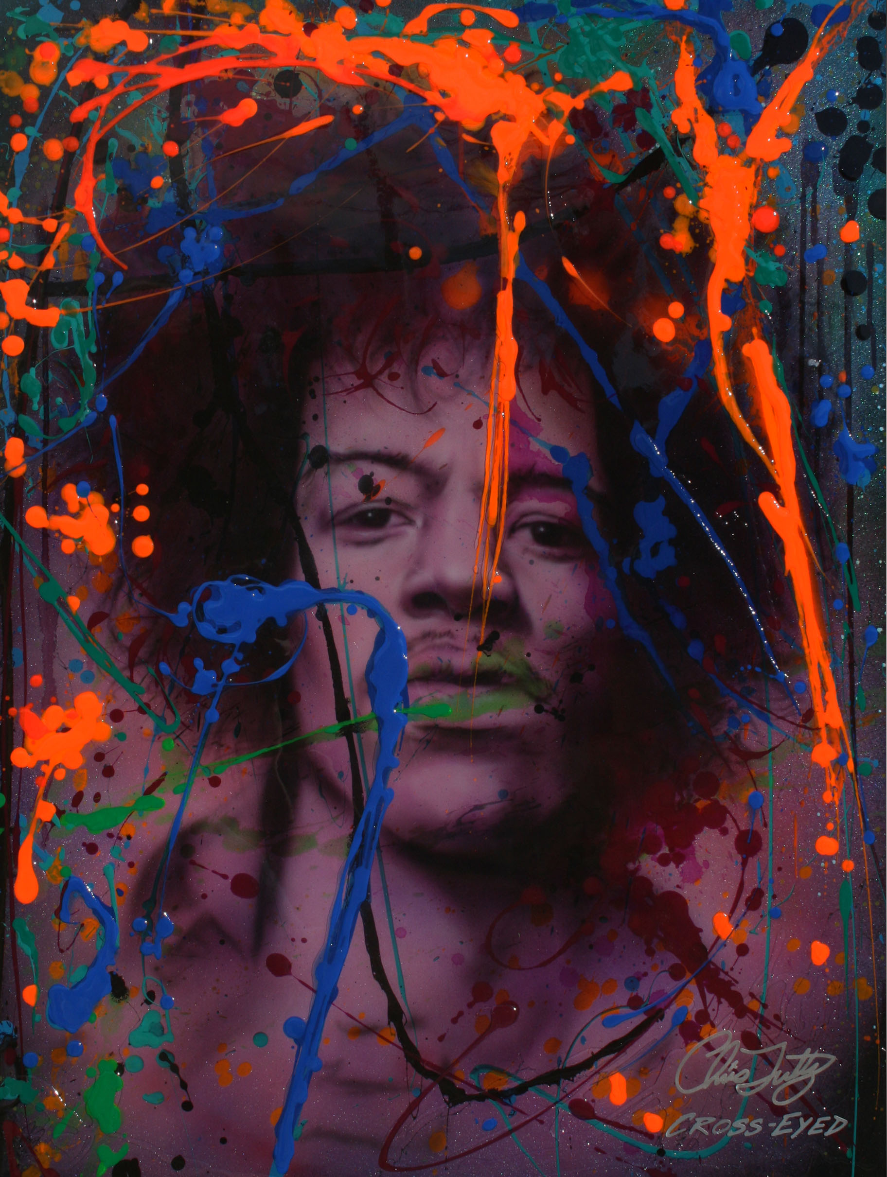 NEON ICON SERIES-JIMI HENDRIX