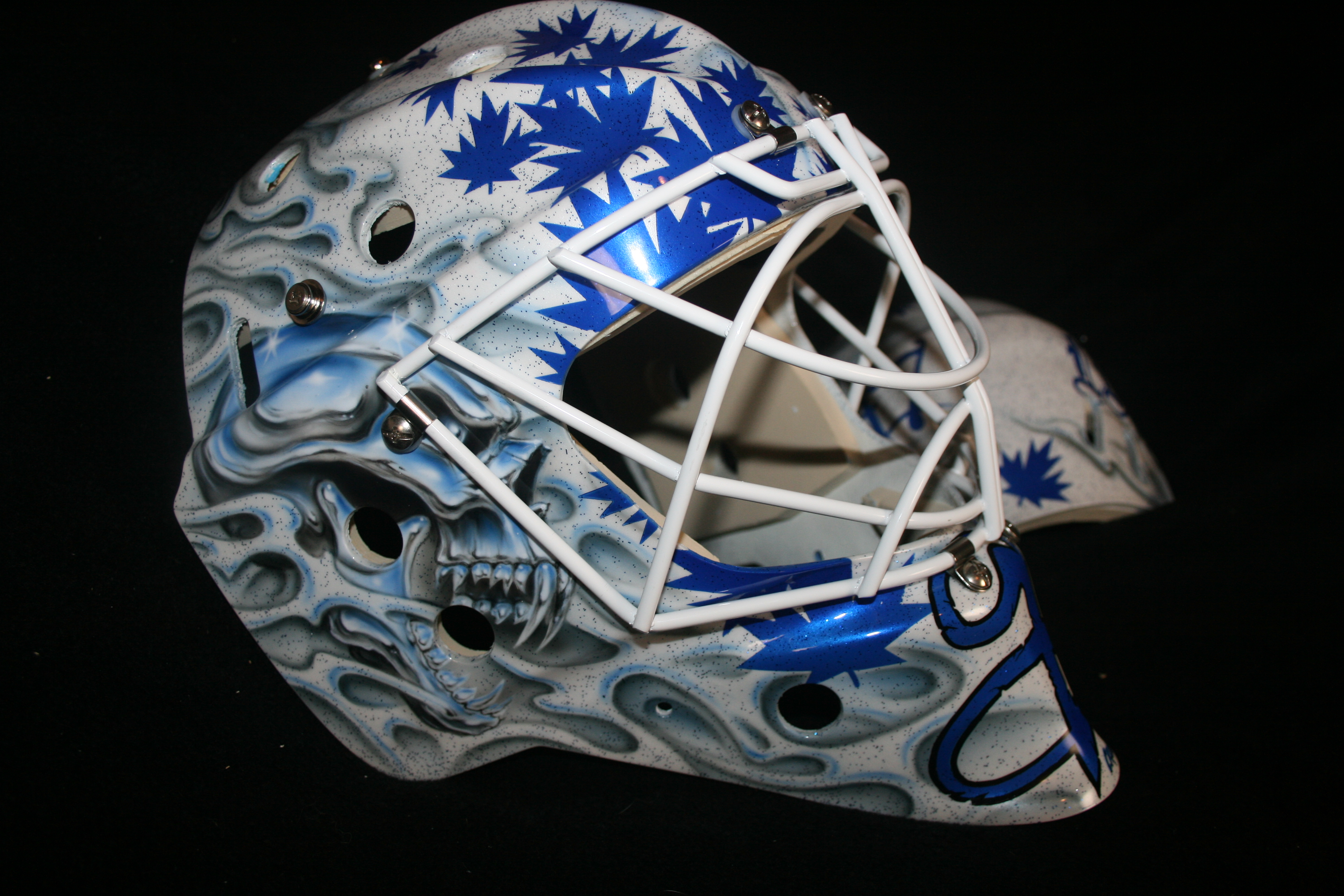 Justin Pogge Toronto Maple Leafs 2