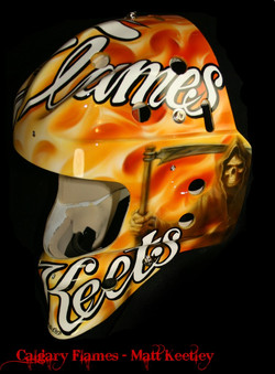 Matt Keetley Calgary Flames 3