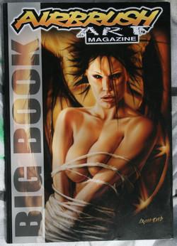 airbrush art magazine big book cover