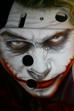 Calgary Flames Mask 1