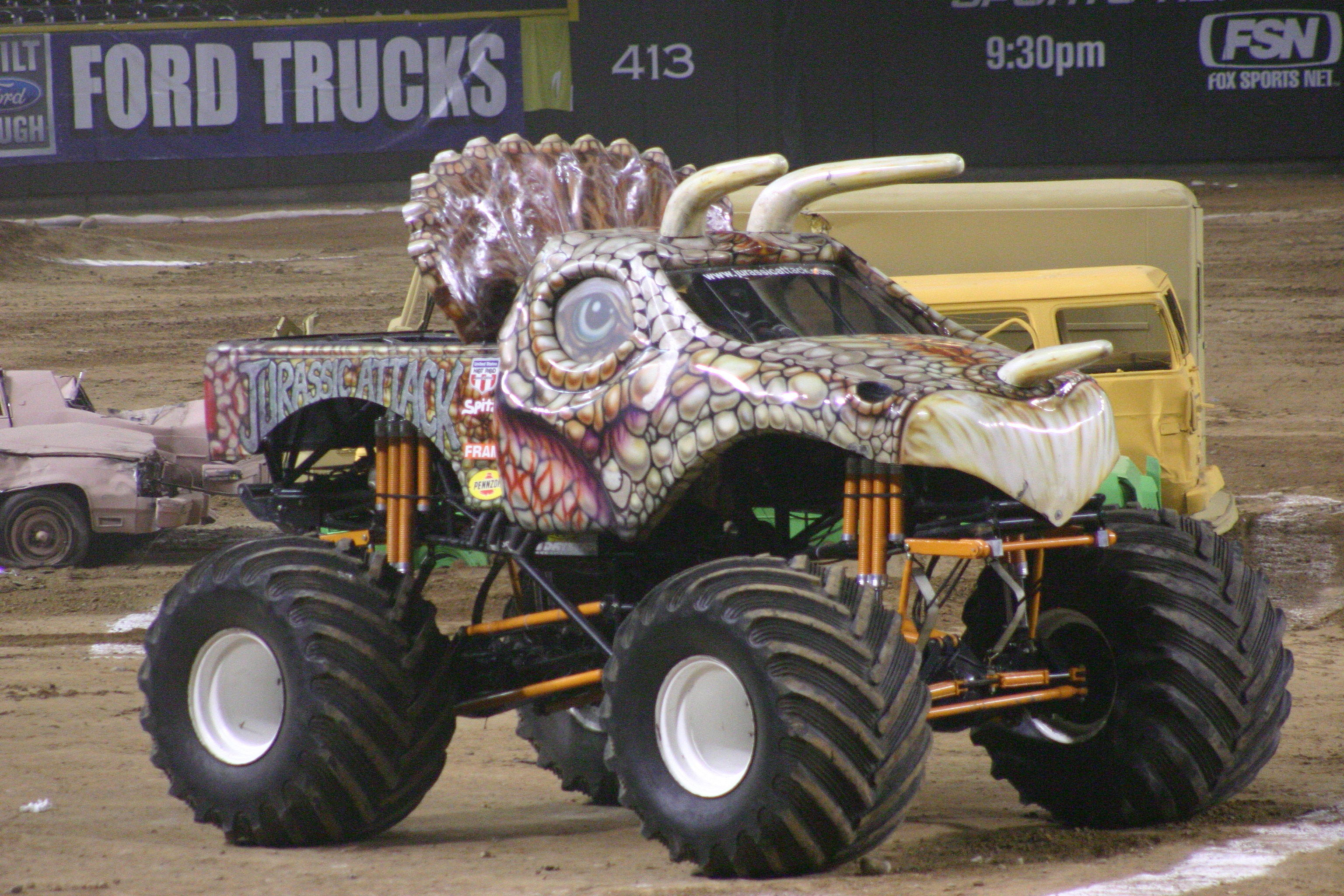 JURASSIC ATTACK MONSTER TRUCK