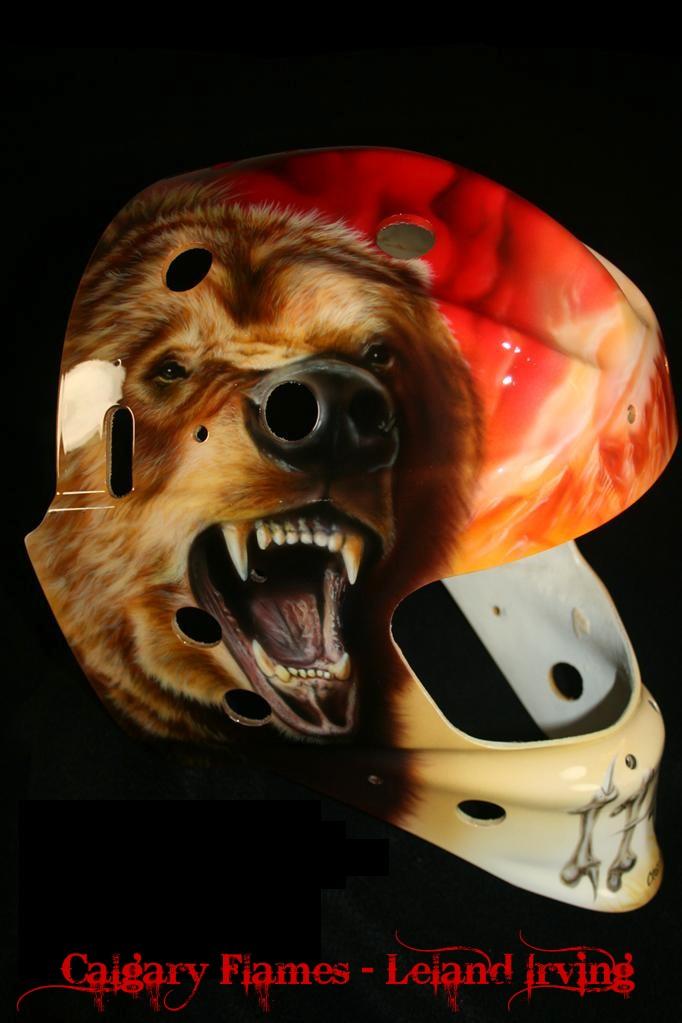 Leland Irving Calgary Flames 01