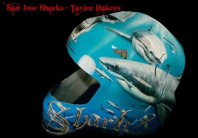 Taylor Daker San Jose Sharks