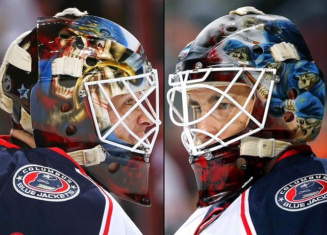 Curtis McElhinney Columbus Blue Jackets 1