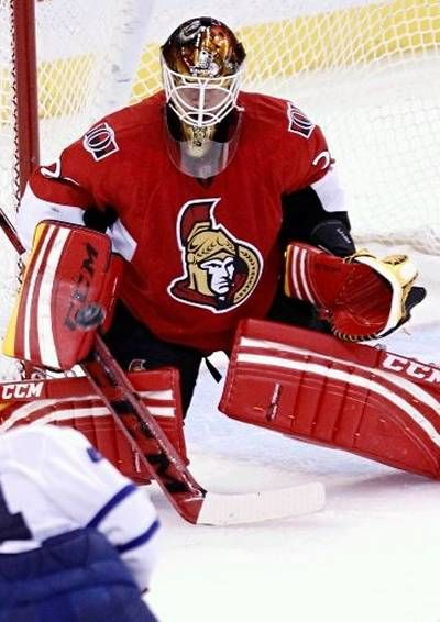 Nathan Lawson Ottawa Senators 03 NOT PAID