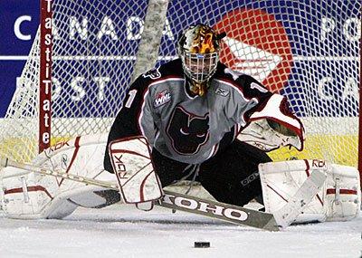 Justin Pogge Calgary Hitmen 0