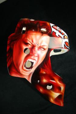 Matt Keetley Calgary Flames Devil 2
