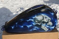 BLUE SKULLS 2