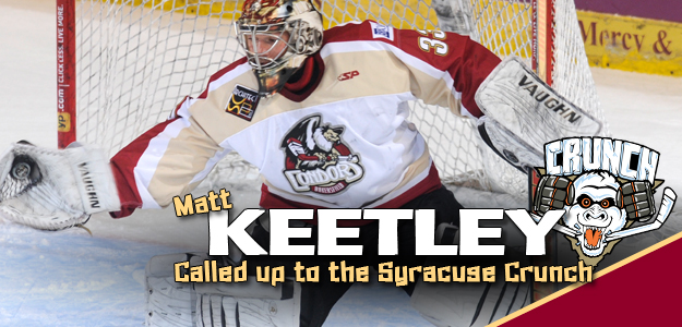 Matt Keetley Syracuse Crunch