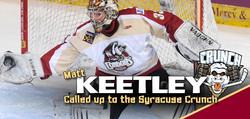 Matt Keetley Syracuse Crunch