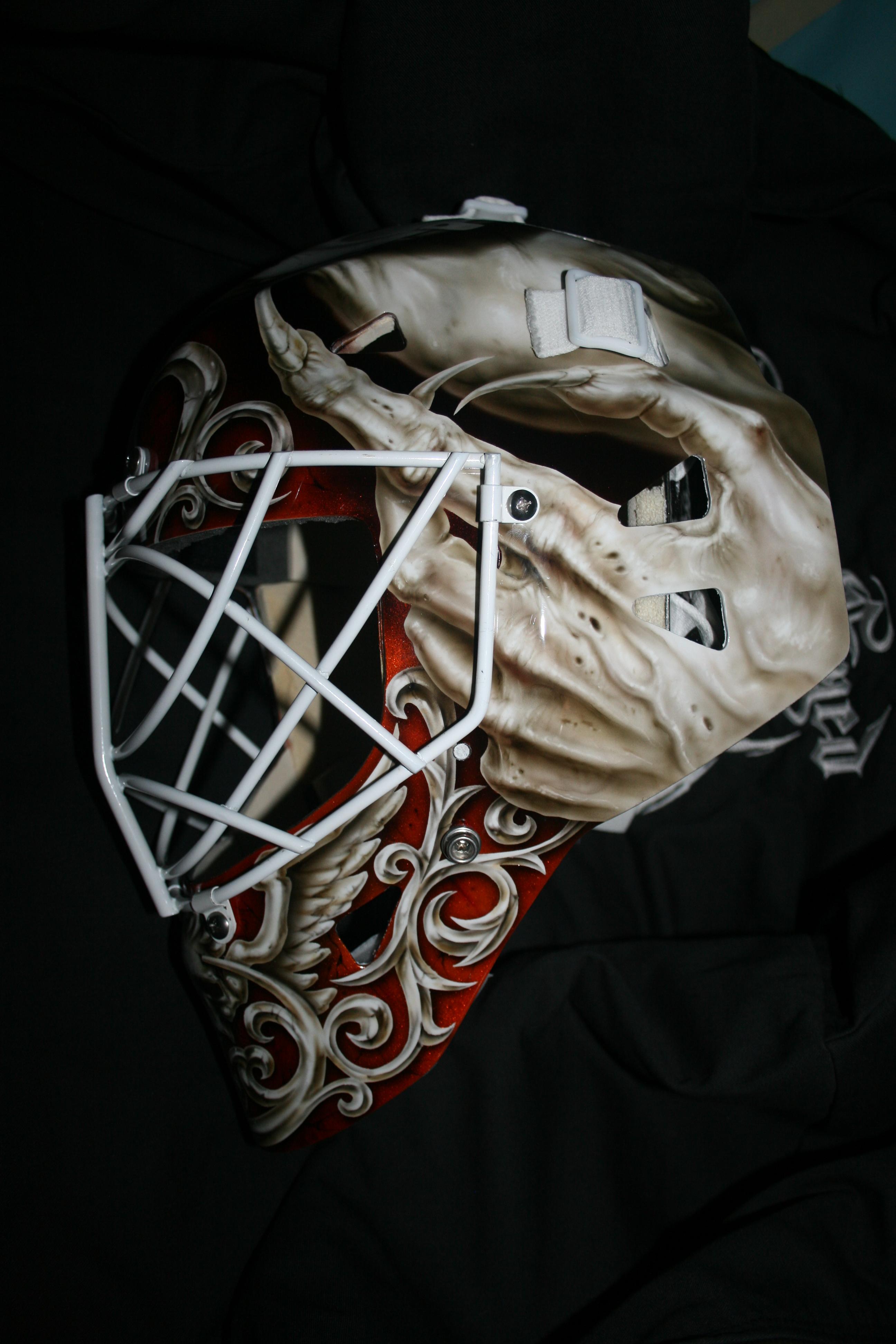 Curtis McElhinney Anaheim Ducks 2