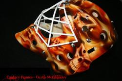Curtis McElhinney  Calgary Flames 01