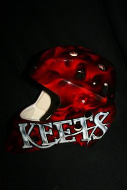 Calgary Flames Mask 3