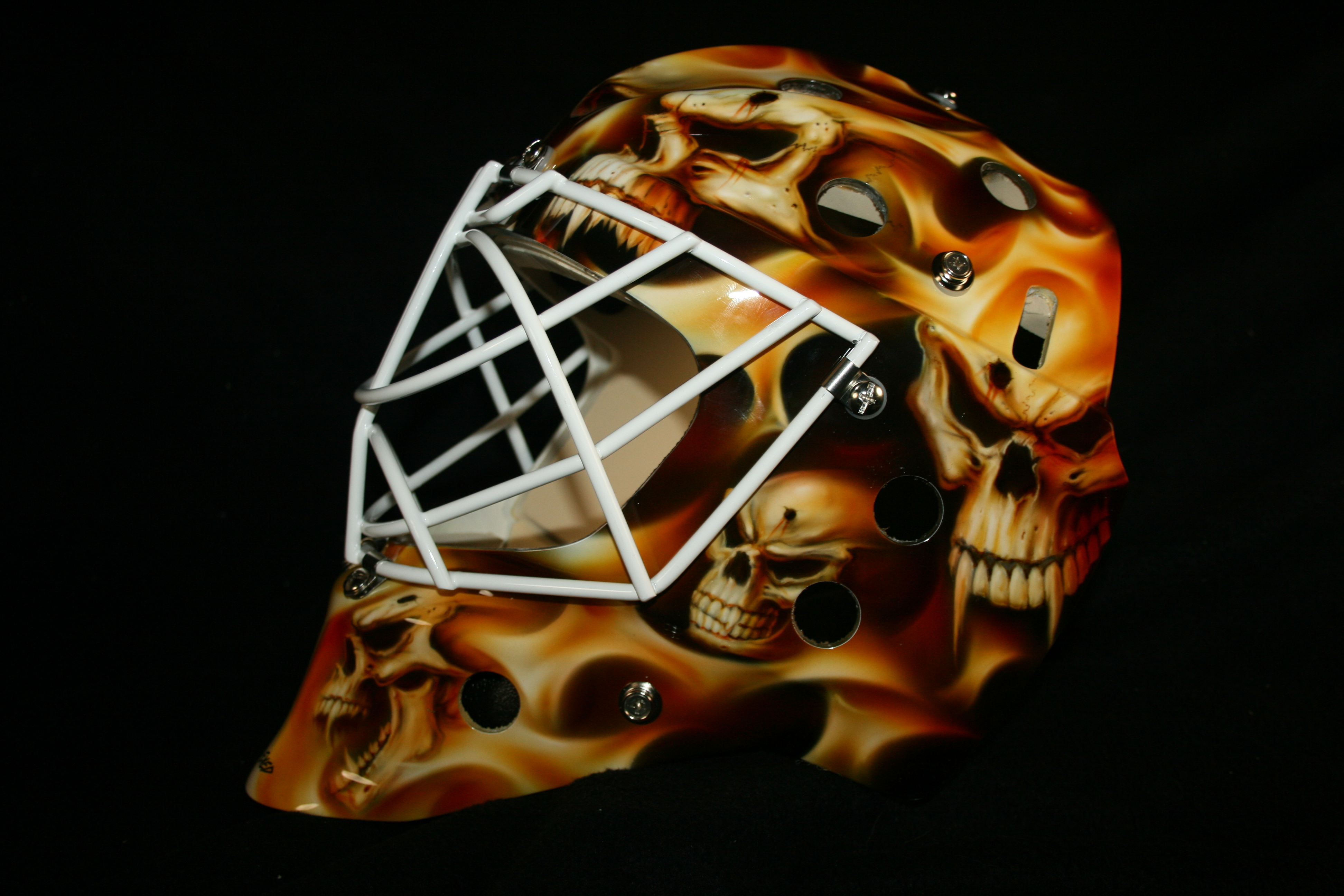 Curtis McElhinney Calgary Flames Version 1