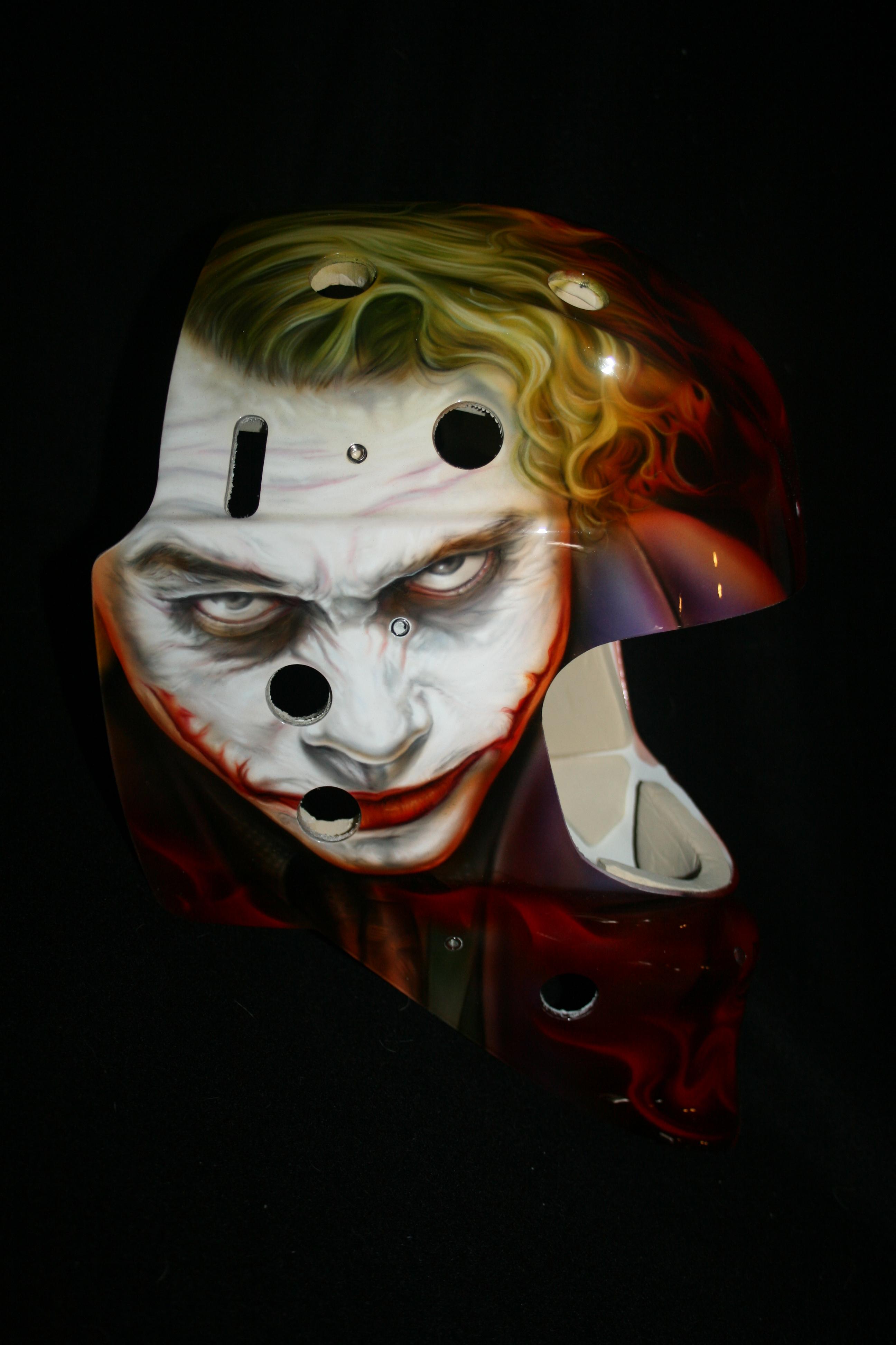 Calgary Flames Mask 2