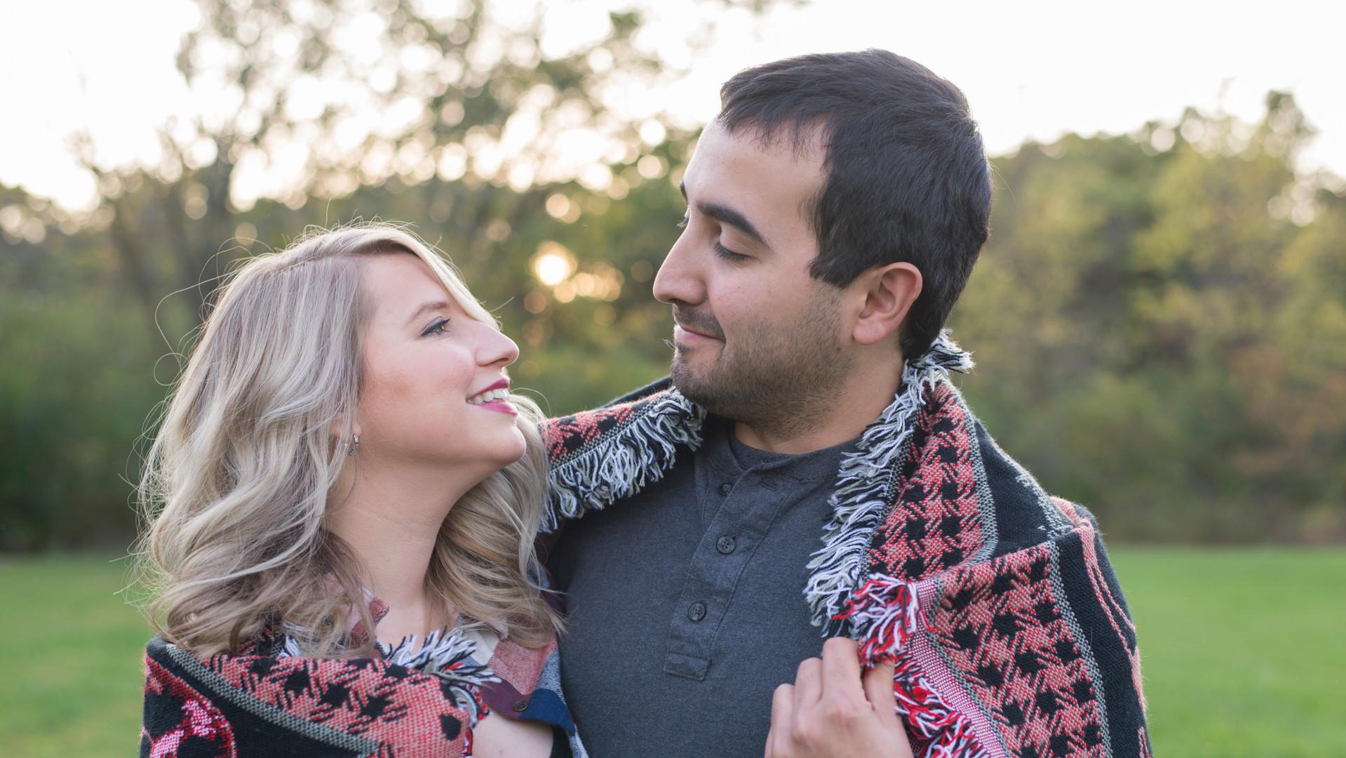 fall couple session