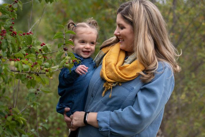 fall nature photo shoot plainfield