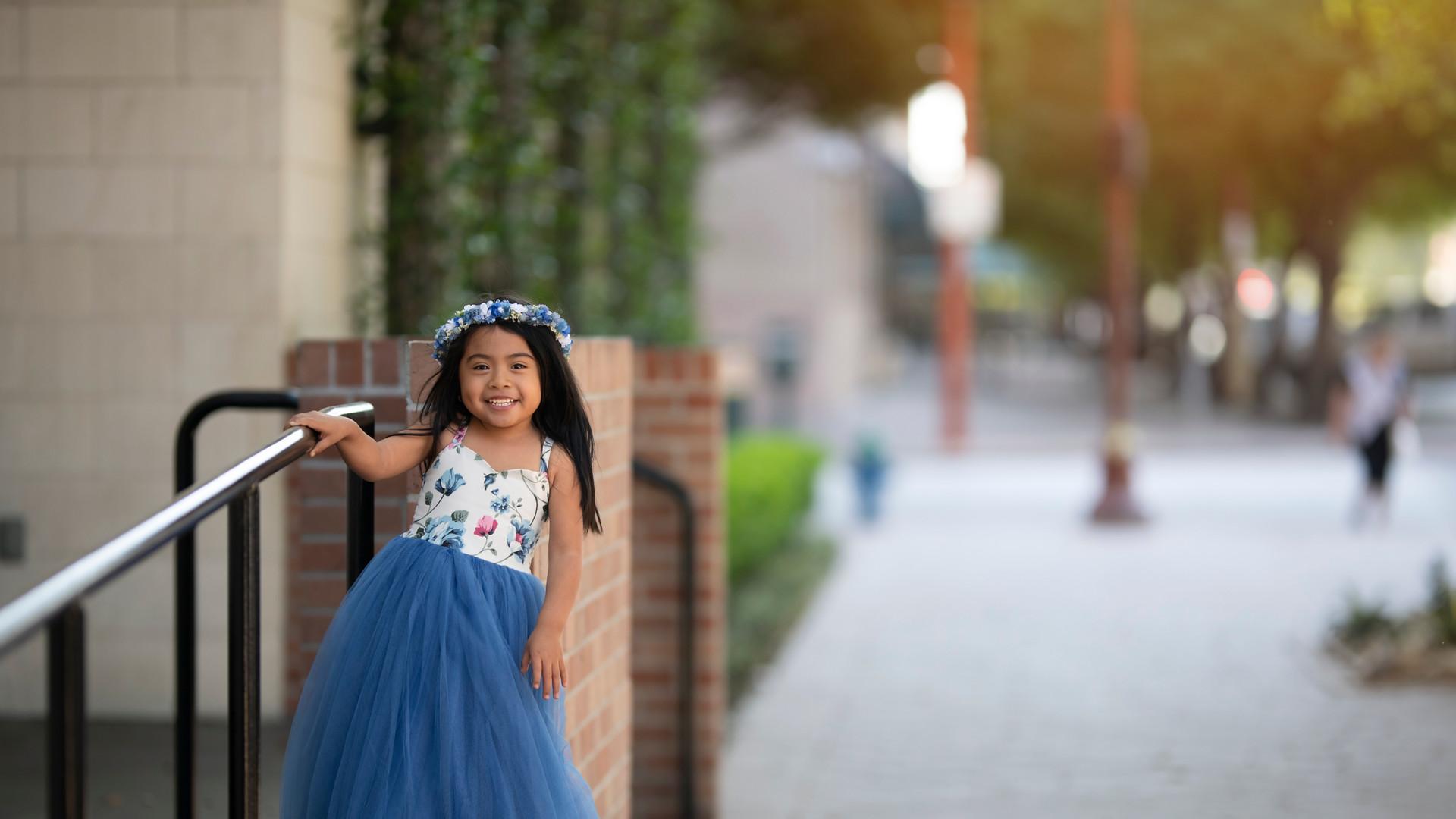 Houston blue urban princess dollcake