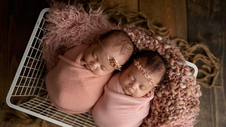 twin baby girl