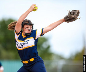 Zoe Delorme selected Top Pitcher in the OIWFA Eastern Division