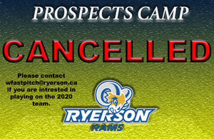 Covid-19 Cancels March 29 Prospects Camp