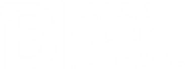Black Stock Footage - Logo Version 2 - W