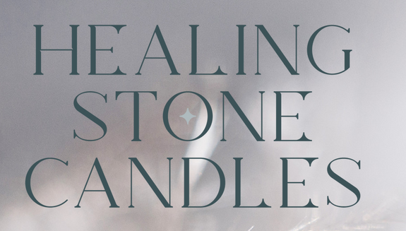 Healing Stone Soy Candles