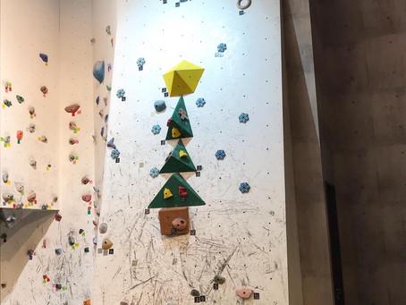 クリスマス壁