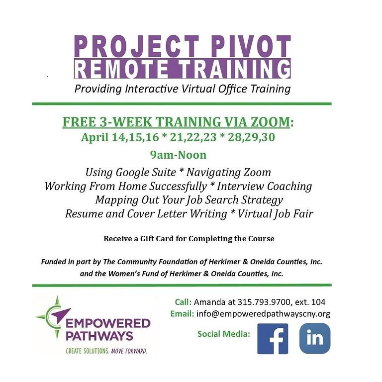 Project Pivot Training