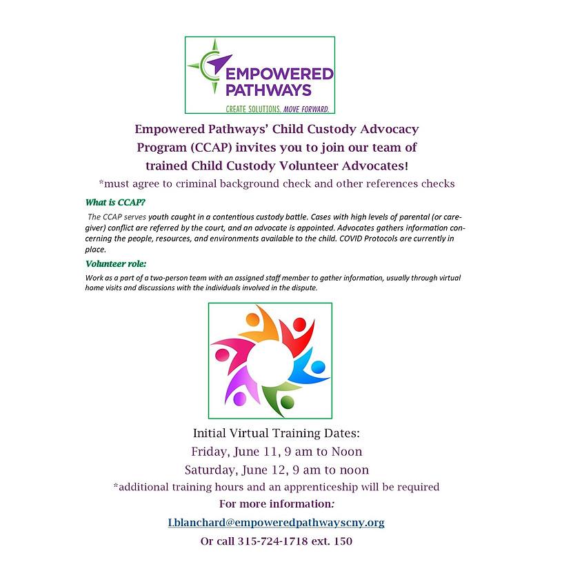 Child Custody Advocate Program (CCAP) - TRAINING