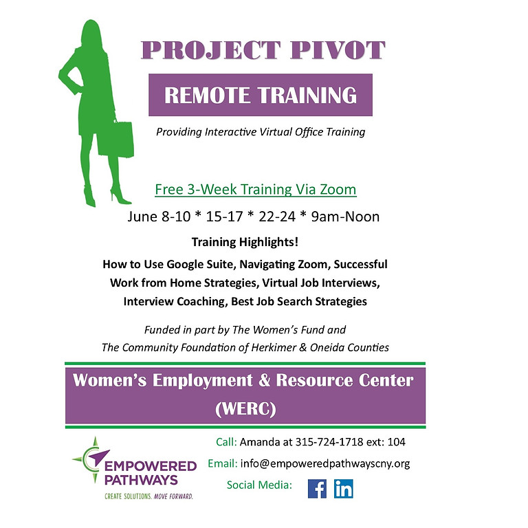 Project Pivot - FREE Training