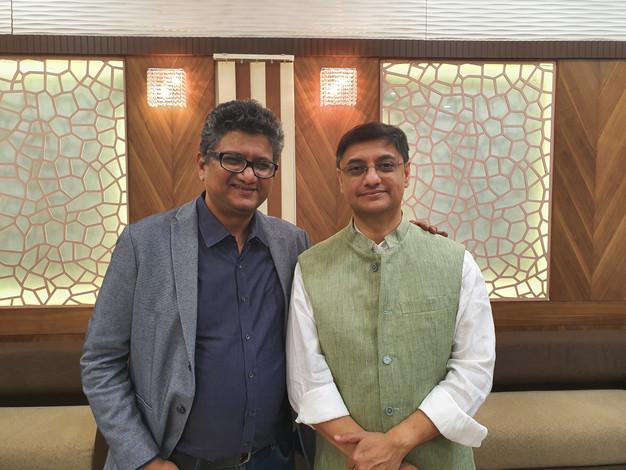 With Sanjeev Sanyal, Principal Economic Advisor, Govt of India