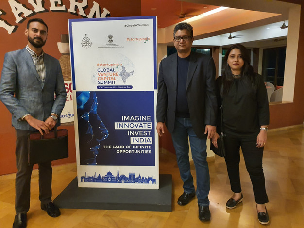 PSI Team at the Invest India Global VC Summit