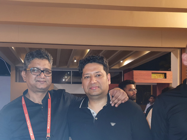 Samir Dahotre with Karran Mittal Velos Partners