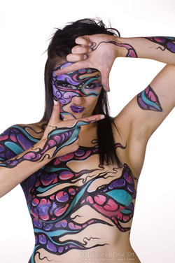 art body paint