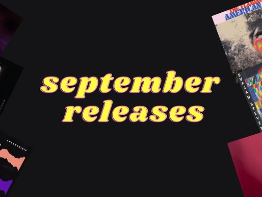 Μουσικές κυκλοφορίες Σεπτεμβρίου