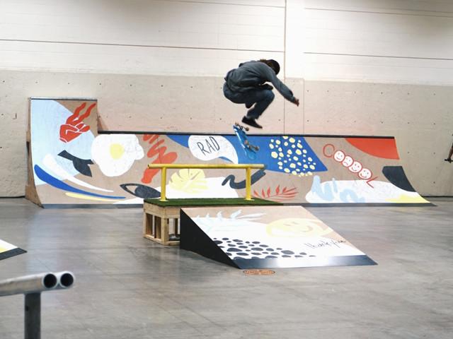 MC Skate Park Mural