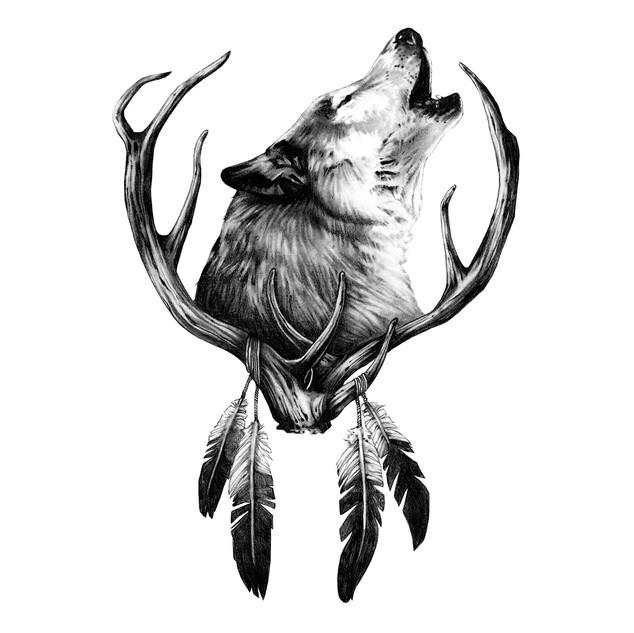 rachel-rivera_art_howling-wolf.jpg